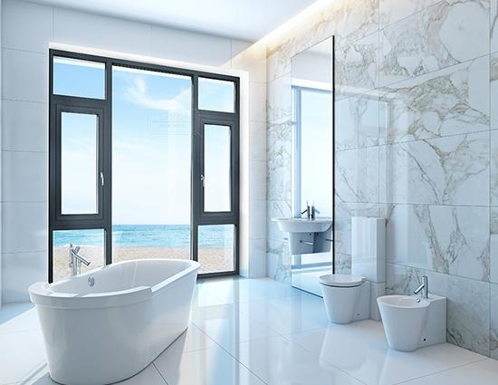 浴室平开窗